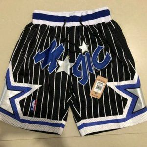 New Just Don NBA Orlando Magic Basketball Shorts